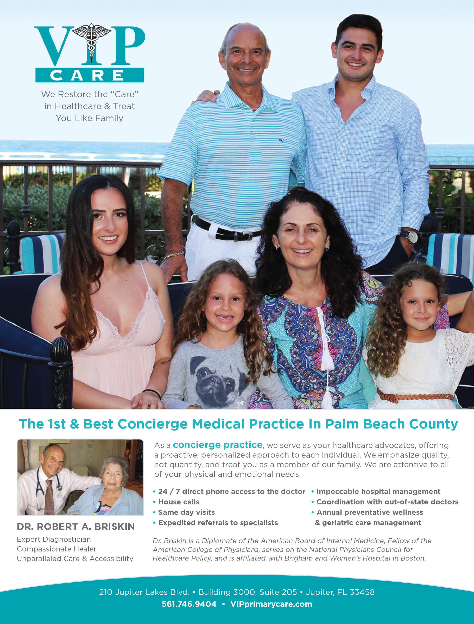 VIP Primary Care Concierge Medicine - Concierge Physicians - Jupiter